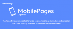 Mobile Pages Agency Discount screenshot